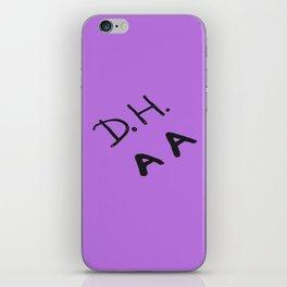 Senior Scribe DH AA iPhone Skin