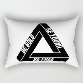Penrose Triangle Rectangular Pillow