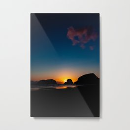 Love Like A Sunset Part 1 Metal Print