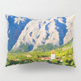 Croatia Mountainside Pillow Sham
