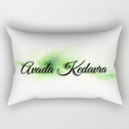 Avada kedavra Rectangular Pillow