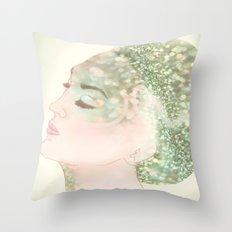 Salacia, Queen of Mermaids Throw Pillow