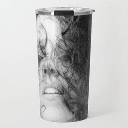 D. in White Travel Mug
