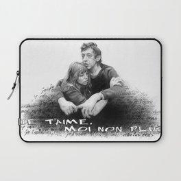 Je t'aime - Jane Birkin & Serge Gainsbourg Laptop Sleeve