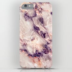 Pink marble texture effect iPhone 6s Plus Slim Case