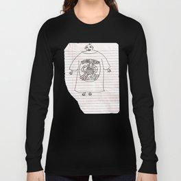 worm disco fan (artist interpretation)  Long Sleeve T-shirt