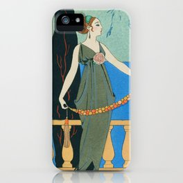 George Barbier Isola Bella c1932 iPhone Case
