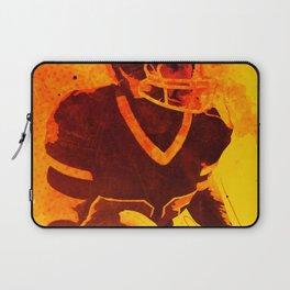 Heat of American Football Laptop Sleeve