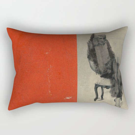 Pose Rectangular Pillow