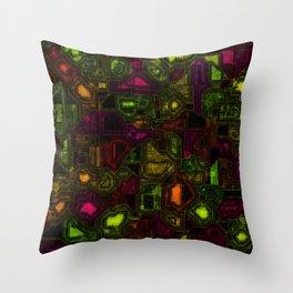 Neon Room Throw Pillow