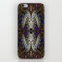 ornate elephant iPhone & iPod Skins featuring Ornate by RingWaveArt