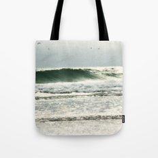the sea in my memory Tote Bag