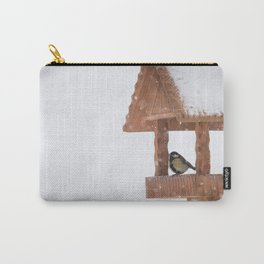 Parus Major bird Carry-All Pouch