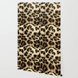 Leopard Print Pattern Animal Print Design Wallpaper