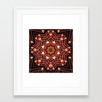 charlie Framed Art Prints featuring Charlie by Shereen Yap