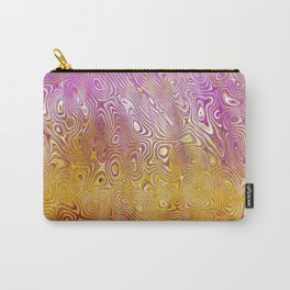 Pink Wave Carry-All Pouch
