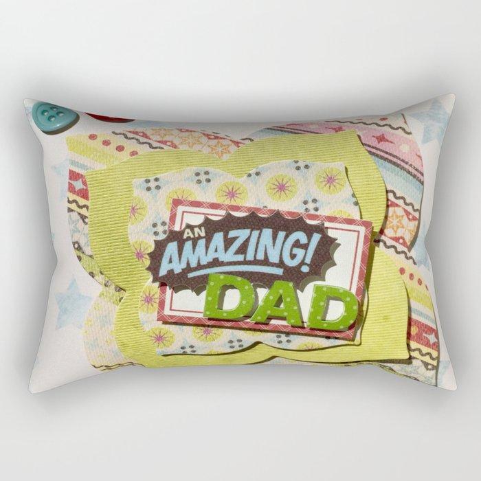 Amazing Dad Rectangular Pillow