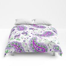 summer paisley Comforters