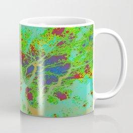 Dotted Leaf  Coffee Mug