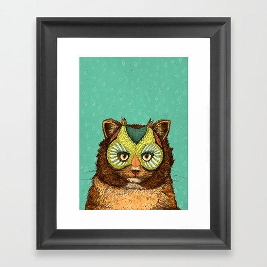 OwlCat Framed Art Print