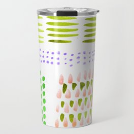 June Brushstrokes Travel Mug