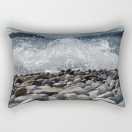waves that break the calm Rectangular Pillow
