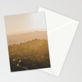 Golden Hour - Los Angeles, California Stationery Cards