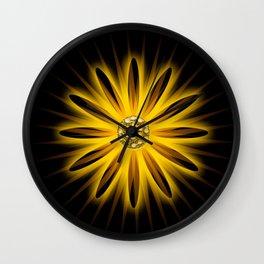 DIGITAL DAISEY Wall Clock