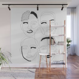 Are Unique BW Wall Mural