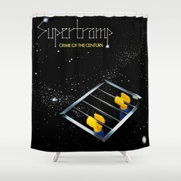 Supertramp - Crime of the Century but with Emmet Shower Curtain