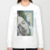 postcard Long Sleeve T-shirts featuring Postcard #22 by Jon Duci