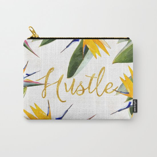 Hustle #society6 Carry-All Pouch
