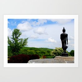 The Steps to Enlightenment Art Print