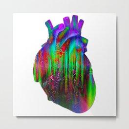 Her Heart Metal Print