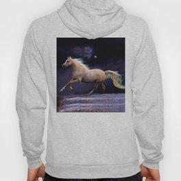 horse galloping Hoody