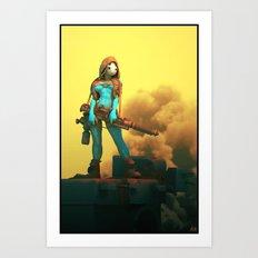 Spygame Art Print