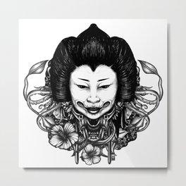 Gueisha Metal Print