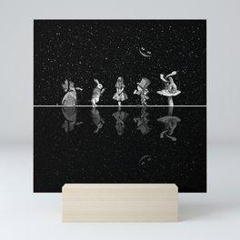 Wonderland Starry Night - Alice In Wonderland Mini Art Print