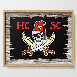 HCSC Pirate Flag Serving Tray