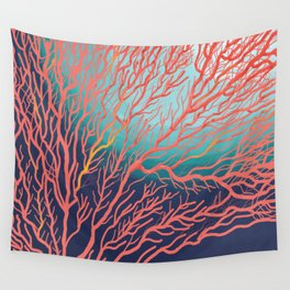 Coral Wall Tapestry