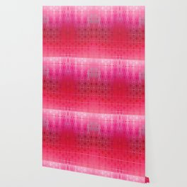 Bead Curtain (red) Wallpaper