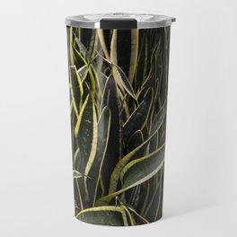 Sansevieria 'Black Gold' Travel Mug