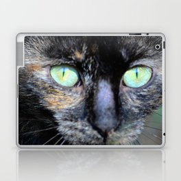 Fluffy's eyes Laptop & iPad Skin