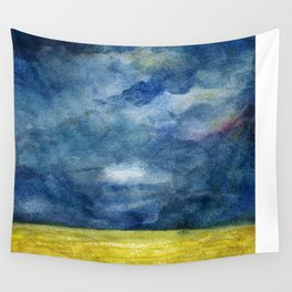 Stormy skies Wall Tapestry