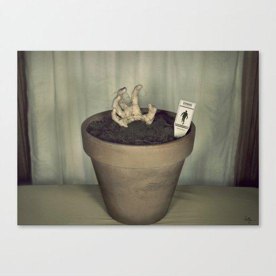 Zombie Plant Canvas Print