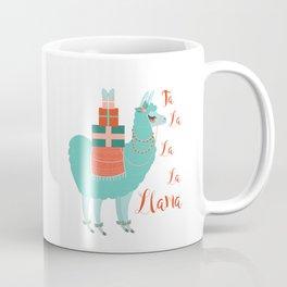 Fa la la la llama Coffee Mug