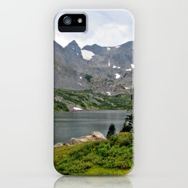 Indian Peaks Wilderness, Colorado iPhone Case