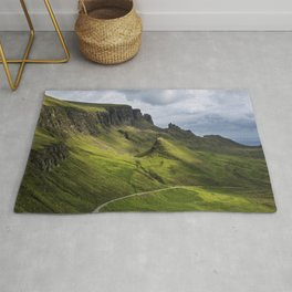 Mesmerized by the Quiraing Rug