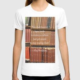 Ray Bradbury Quote T-shirt