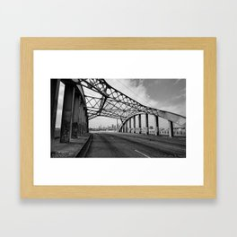 Sixth Street Viaduct Bridge - LA 02/30/2016 Framed Art Print